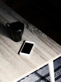グレー天板引き出し付センターテーブルロマRoma【おしゃれかわいい机テーブルローテーブルリビングテーブル引出し引き出し収納ブルックリン男前木製北欧灰色ホワイト白リビング一人暮らし家具】【インテリア】