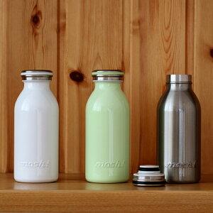 mosh! モッシュ ボトル 350ml【ボトル マイボトル ミルク瓶 水筒 すいとう ステン…