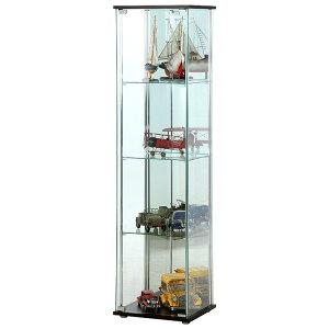 ガラス 鏡 かがみ ミラー コレクション ディスプレイ フィギア 雑貨 食器 小物 シンプル モダン...
