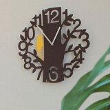 掛け時計 振り子時計 ピークス インターフォルム【壁掛け時計 おしゃれ かわいい デザイン 北欧 壁時計 ウォールクロック 壁掛け 雑貨 ナチュラル モダン リビング 子供部屋 子ども 引越し祝い 動物 アニマル 結婚祝い 木製 インテリア プレゼント】