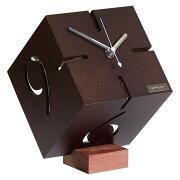 クーポン 置き時計 スタンド おしゃれ 一人暮らし アナログ インテリア