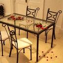 ガラス ダイニングテーブル デルソル Del Sol 【デル・ソル ハイテーブル ガラステーブ…