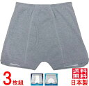 失禁パンツ 尿漏れパンツ 男性用 100cc吸水 S/M/L/LL/3L/4L【3枚組】 日本製 品番33015の商品画像