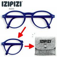 IZIPIZI#F折り畳み老眼鏡BK(ネイビー)
