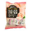 下仁田物産蒟蒻ゼリー ピーチ味 10個 1