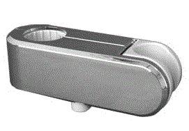 INAX スライドフック CKNB(5)-SF/CH (直径30mmのバー用)