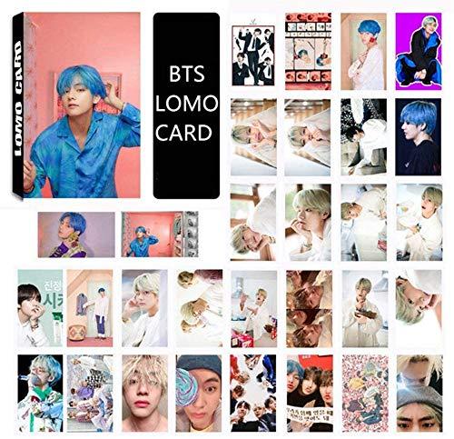 ホビー, その他 YaoShiKou LOMO30 MAP OF THE SOUL PERSONA - PHOTO CARD SET BOY WITH LUV (V)