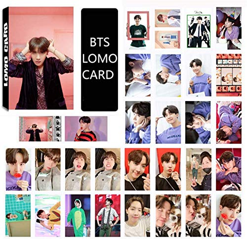 ホビー, その他 YaoShiKou LOMO 30 MAP OF THE SOUL PERSONA - PHOTO CARD SET BOY WITH LUV (J-HOPE)