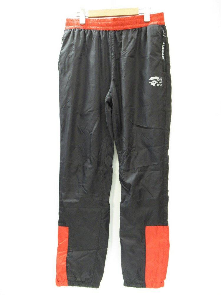 メンズファッション, ズボン・パンツ A BATHING APE BAPE STA 2TONE TRACK PANTS L (BT-186)