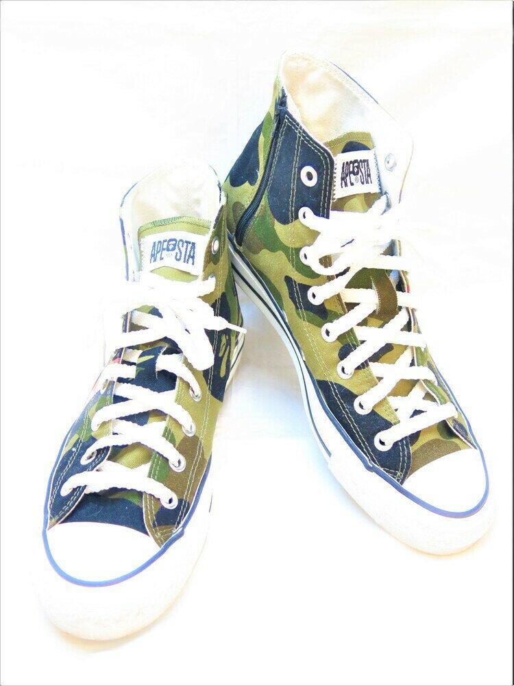 メンズ靴, スニーカー A BATHING APE SHARK APE STA HI BAPE STA made inJAPAN 28cm (SH-446)