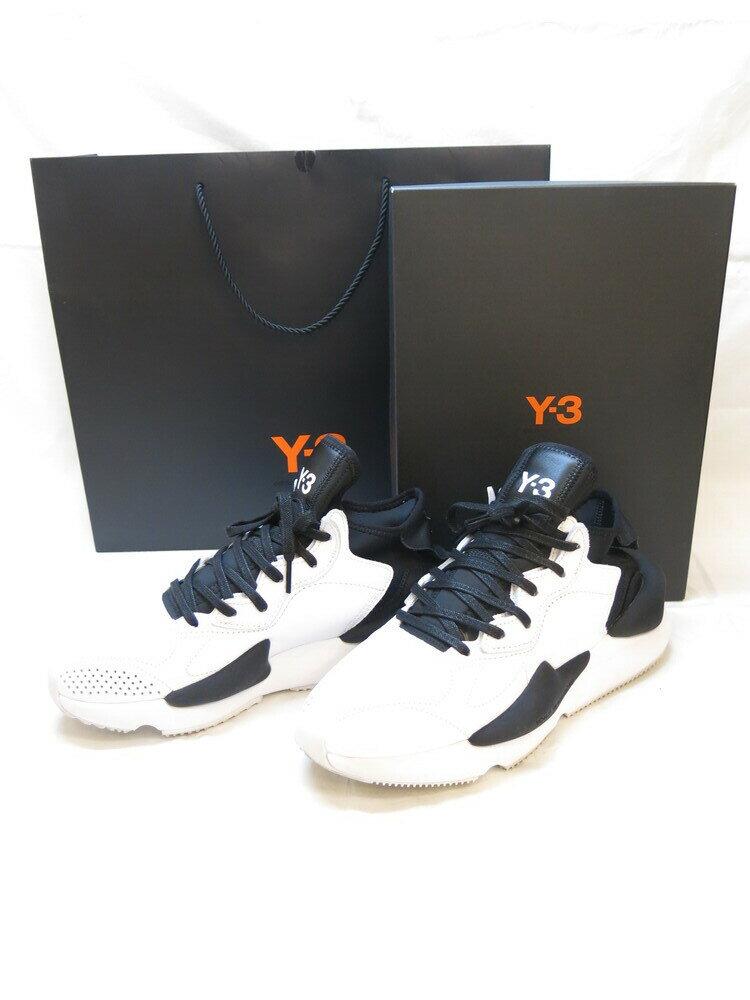 メンズ靴, スニーカー Y-3 Y3 adidas YOHJI YAMAMOTO KAIWA FTWWHTCBLACK 27.5cm ART FX7280 (SH-461)