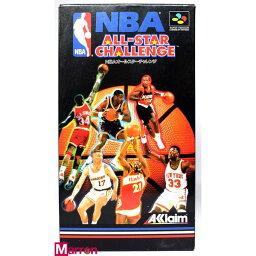 【中古】 SFC NBAオールスターチャレンジ 箱説付 スーパーファミコン スーファミ ALL STAR CHALLENGE