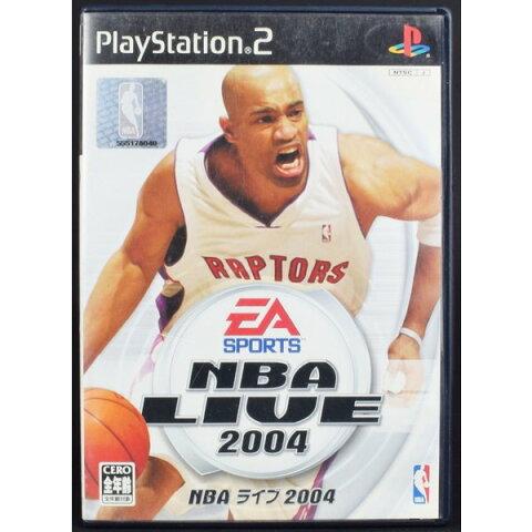 【中古】PS2 NBAライブ2004 ケース・説明書付 プレステ2 ソフト