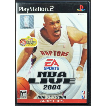 【中古】 PS2 NBAライブ 2004 ケース・説明書付 プレステ2 ソフト 中古 NBA LIVE2004
