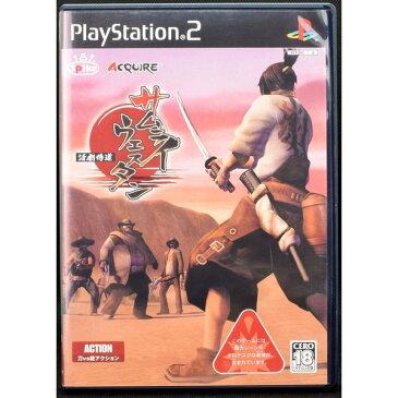 【中古】 PS2 サムライウエスタン 活劇侍道 ケース・説明書付 プレステ2 ソフト