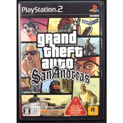 【中古】 PS2 グランドセフトオート サンアンドレアス ケース・説明書付 プレステ2 ソフト