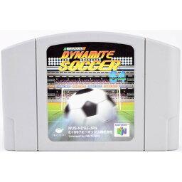 【中古】N64 Jリーグ ダイナマイトサッカー ソフト ニンテンドー64