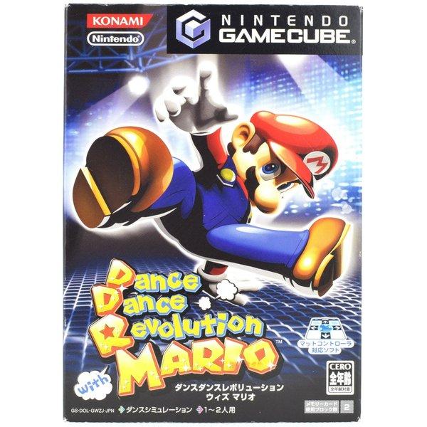 【中古】 GC Dance Dance Revolution ダンスダンスレボリューション with マリオ マットなし ゲームキューブ ケース 説明書付 Nintendo ソフト