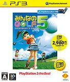 【送料無料】【中古】PS3 みんなのGOLF 5(PlayStation 3 the Best) プレイステーション3 プレステ3