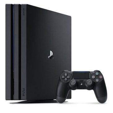 【送料無料】【中古】PS4 PlayStation 4 Pro ジェット・ブラック 1TB (CUH-7100BB01) プレイステーション4 プレステ4 本体(箱付き)