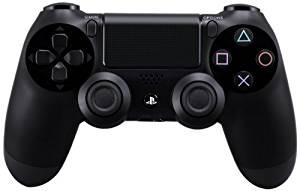 【送料無料】【中古】PS4ワイヤレスコントローラー(DUALSHOCK4)ジェット・ブラックプレイステーション4プレステ4本体