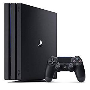 【送料無料】【中古】PS4 PlayStation 4 Pro ジェット・ブラック 1TB (CUH-7200BB01) プレイステーション4(箱説付き)