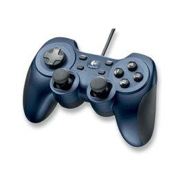 【送料無料】【中古】PC ロジクール ゲームパッド Rumble Pad 2 ランブルパッド2 G-UF13 メタリックブルー コントローラー