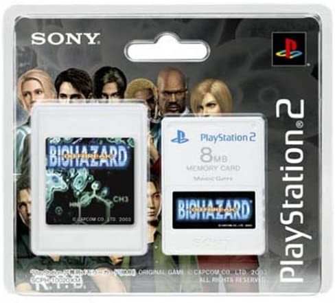 中古 PS2プレイステーション2PlayStaion2専用メモリーカード(8MB)PremiumSeriesBIOHAZA