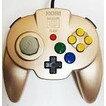 【送料無料】【中古】N64 任天堂64 ホリパッドミニ64 ゴールド コントローラー 本体