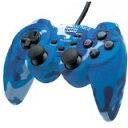 【送料無料】【中古】PS2 アナログ振動パッド2 迷彩ブルー プレイステーション2 プレステ2 コントローラー