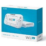 【欠品あり】【送料無料】【中古】 Wii U プレミアムセット shiro (WUP-S-WAFC) シロ 白 任天堂 本体のみ (ゲームパッド、ケーブルなし)(New スーパーマリオブラザーズ UとWii Party U内蔵)