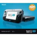 【送料無料】【中古】Wii U プレミアムセット kuro クロ 黒 任天堂 本