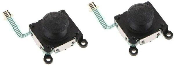 新品 PlayStationVitaアナログスティック×2個セット黒クロ型番2000専用LR共通分解修理パーツ