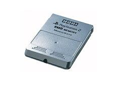 【送料無料】【中古】PS2 プレイステーション2 プレイステーション2専用 光るメモリーカード 8MB シルバー