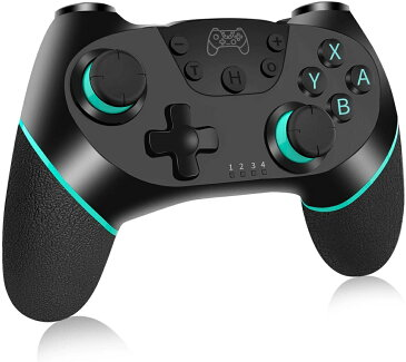 【訳あり】【送料無料】【中古】Nintendo Switch コントローラー RegeMoudal ワイヤレス Bluetooth 接続 6軸ジャイロセンサー搭載 HD振動 TURBO連射機能