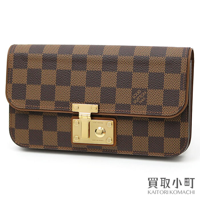 3ba73a40d75f 最大5千円OFFクーポン】【新品同様】ルイヴィトン 【LOUIS VUITTON】 N63171 ポルトフォイユ アスコット ダミエ クラッチバッグ  セパレートコインケース付き 長財布 ...