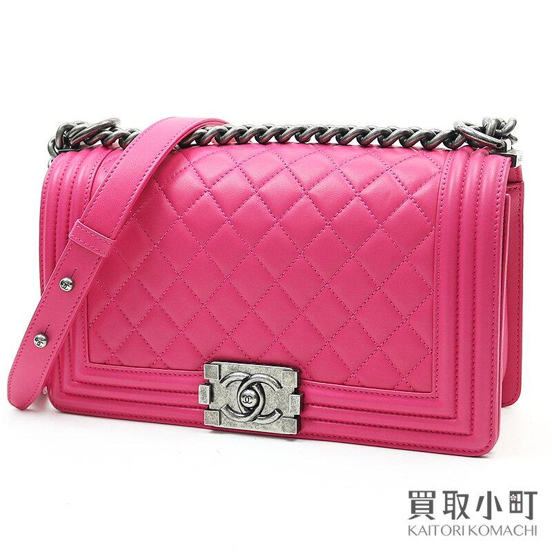レディースバッグ, ショルダーバッグ・メッセンジャーバッグ 5000OFF! CHANEL A67086 19 Boy Chanel Flap Bag Pink leatherA