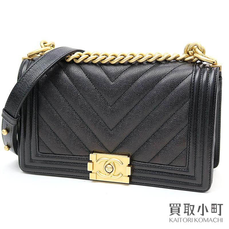 レディースバッグ, ショルダーバッグ・メッセンジャーバッグ 5000OFF! CHANEL V A67086 24 Boy Chanel Flap Bag leather