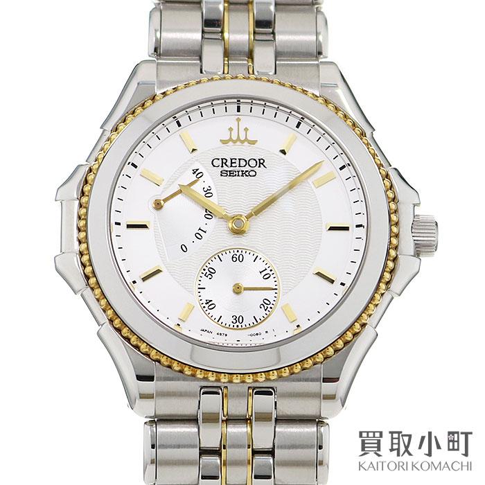 腕時計, メンズ腕時計  Seiko Credor K18 GCAY990 4S79-0A20 K18YGSS PACIFIQUE WATCHA