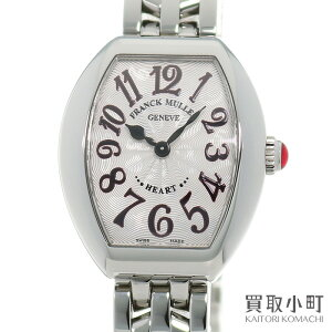 [Beautiful goods] Frank Muller [FRANCK MULLER] Heart to Heart Clair Ladies Watch Tonow Case Silver Quartz SS Breath Women's watch 5002SQZJA AC HEART to HEART WATCH QZ [A rank] [Used]