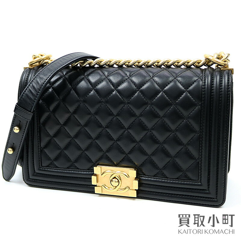レディースバッグ, ショルダーバッグ・メッセンジャーバッグ 5000OFF! CHANEL A67086 23 Boy Chanel Flap Bag leatherA