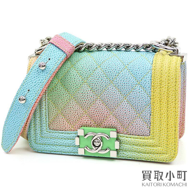 レディースバッグ, ショルダーバッグ・メッセンジャーバッグ  CHANEL A67364 23 Boy Chanel Flap Bag leatherS