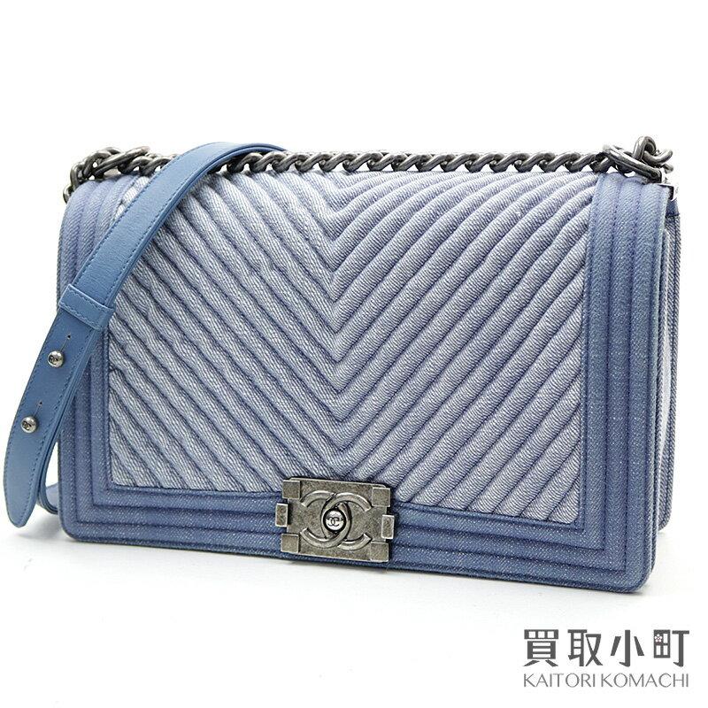 レディースバッグ, ショルダーバッグ・メッセンジャーバッグ 5000OFF! CHANEL V A92771 20 Boy Chanel Denim Flap BagSA