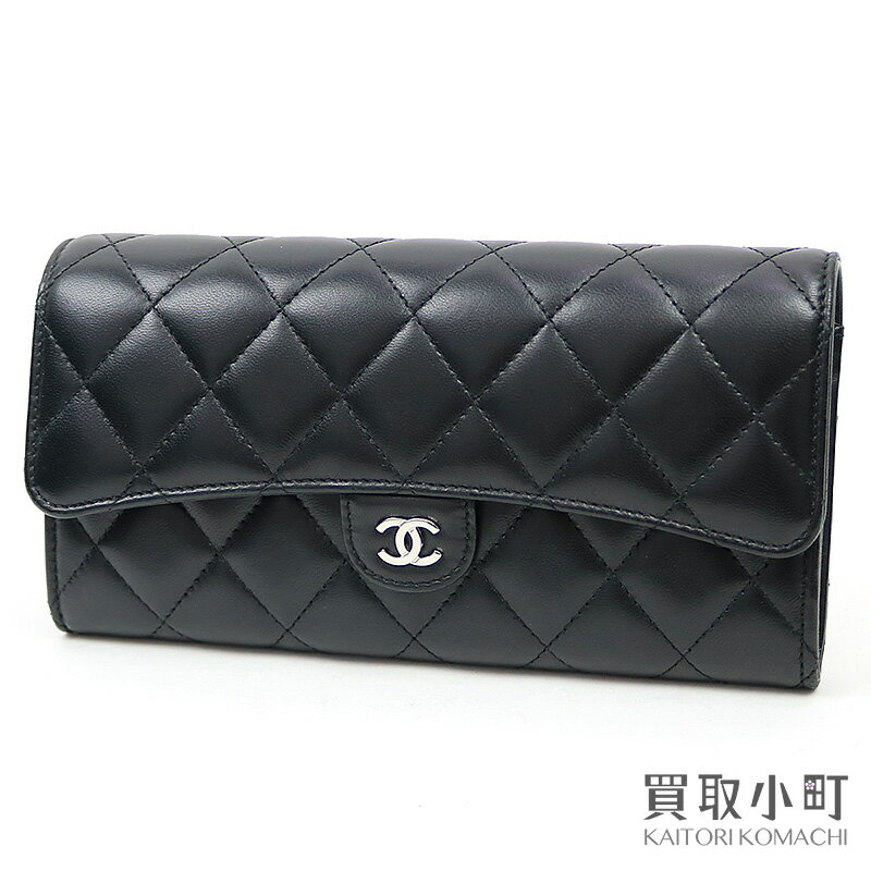 CHANEL quilted wallet CHANEL A80758 24 Classic C...