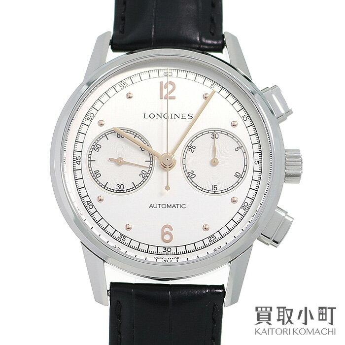 腕時計, メンズ腕時計 LONGINES 1940 L2.814.4.76.0 THE LONGINES HERITAGE CHRONOGRAPH 1940 WATCHA