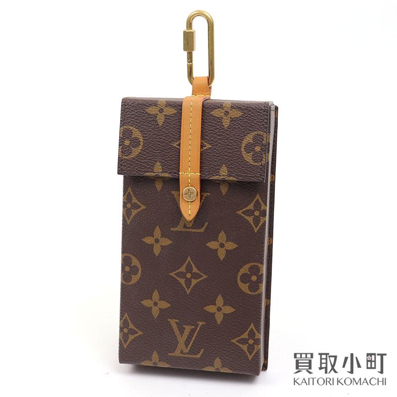 バッグ・小物・ブランド雑貨, その他  LOUIS VUITTON M68523 iPhone LV Box Phone Case A