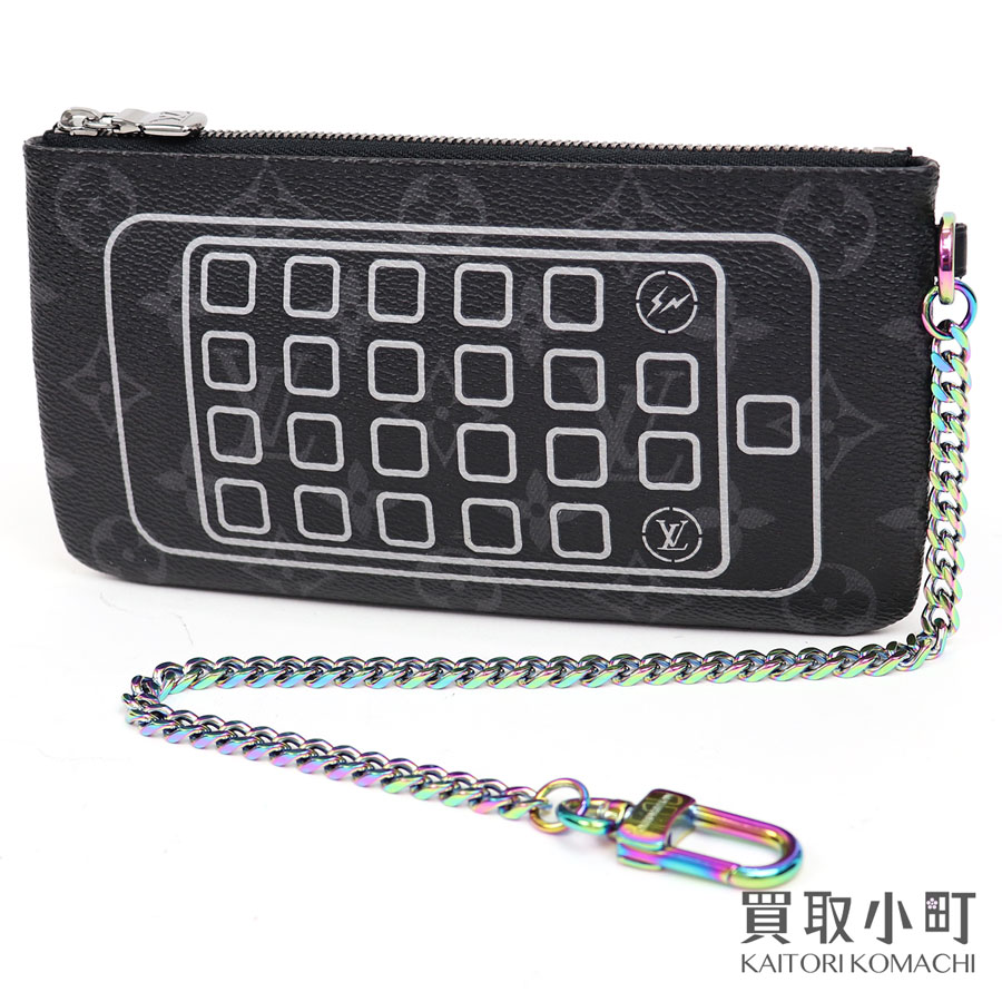 メンズバッグ, アクセサリーポーチ 3OFF! 515 LOUIS VUITTON fragment design M64433 iPhone LV iPhone pouch A