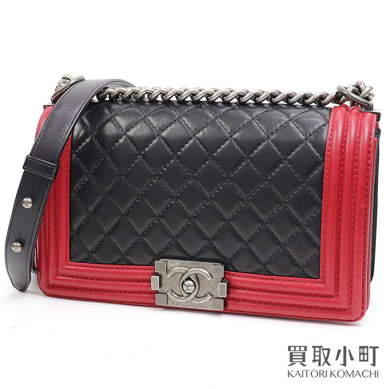 レディースバッグ, ショルダーバッグ・メッセンジャーバッグ  CHANEL A67086 17 Boy Chanel Flap Bag leatherAB