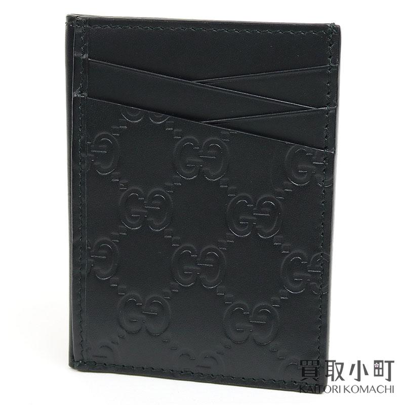 財布・ケース, クレジットカードケース 1OFF! 1125 GUCCI 495015 CWC1R 1000 GG Signature Card CaseSA