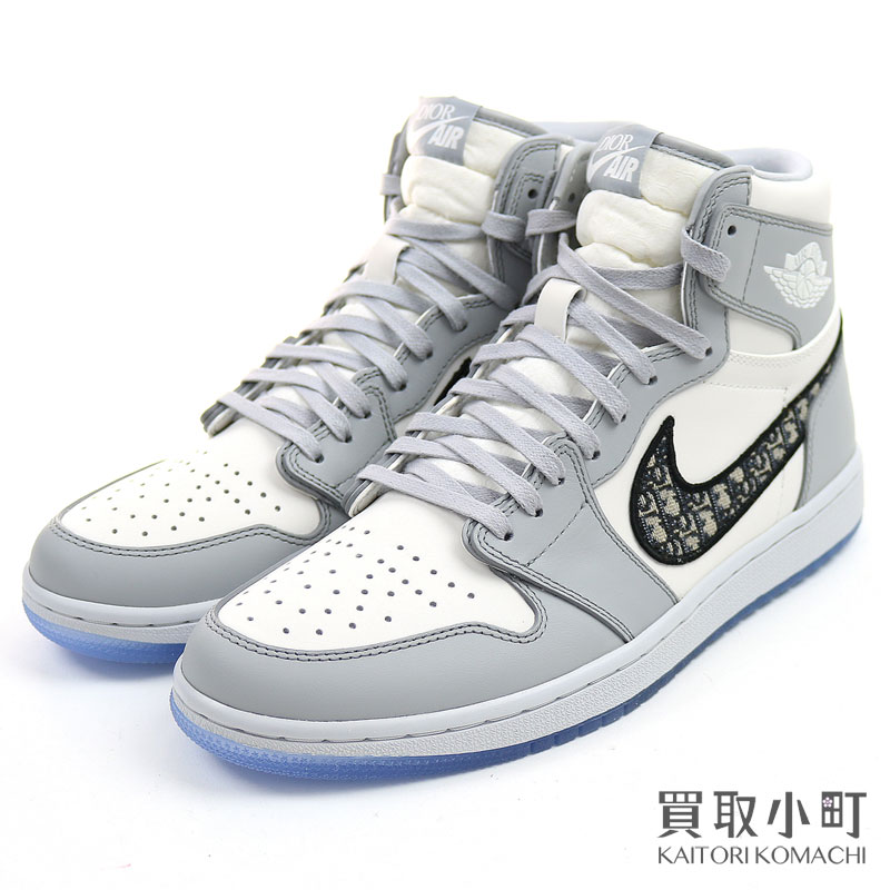 メンズ靴, スニーカー Dior Nike Air Jordan 1 High OG 1 CN8607-002 Trotter High cut SneakersS